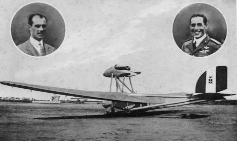Arturo Ferrarin, o S. 64 e Carlo Del Petre