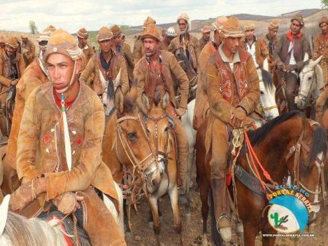 Vaqueiros nordestinos - Fonte - http://www.portalserrita.com.br/