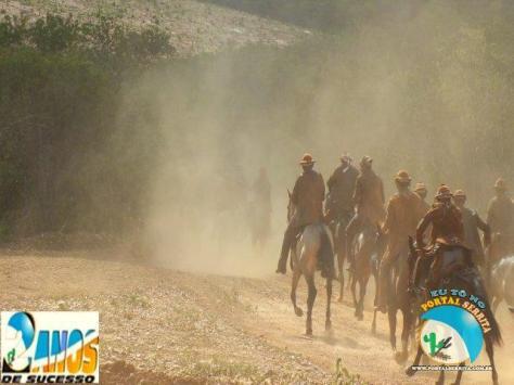 Partida para pegar os bois - Fonte - http://www.portalserrita.com.br/