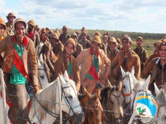 Alegria da vaqueirama - Fonte - http://www.portalserrita.com.br/