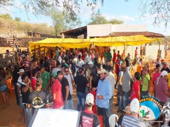 Festa nas fazendas onde ocorrem os eventos - Fonte - http://www.portalserrita.com.br/
