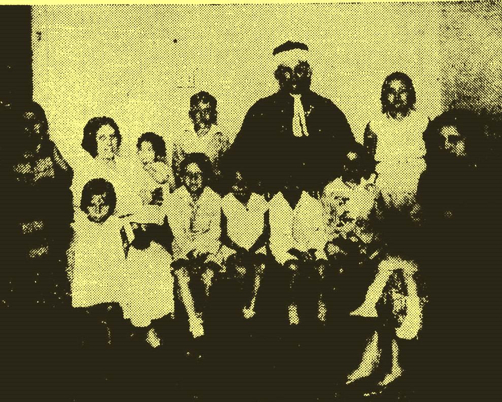 Antônio Granjeiro, esposa e filhos em 1933