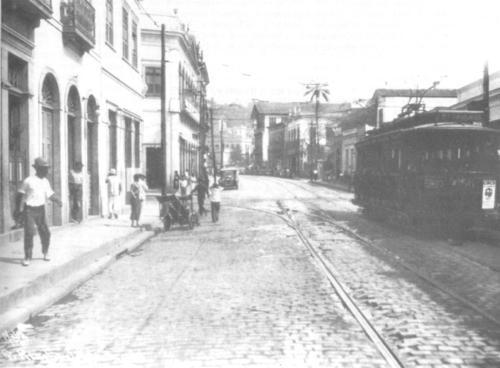 Rua Riachuelo, em Botafogo, Rio de Janeiro - Fonte - www.rioquepassou.com.br