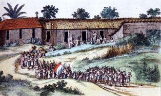 Tropas holandesas e um engenho nordestino em 1664