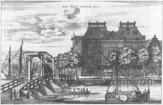 Edificação da Companhia das Índias Ocidentais em Amsterdam