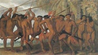 Indios Tapuias Albert Eckhout 1640