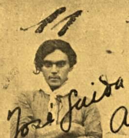 José Alves de Lima, o José Guida, que teria sido cangaceiro de Sinhô Pereira