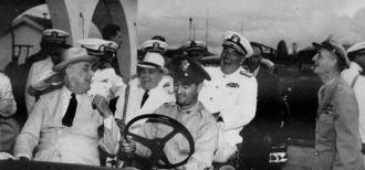 Vargas e Roosevelt em Natal - Fonte - http://www.neill-lochery.co.uk/