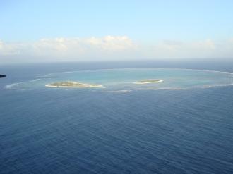 Outra vista aérea do Atol das Rocas - Fonte - Flick.com