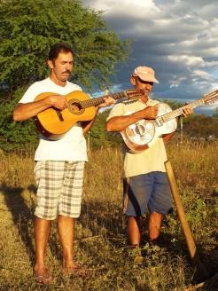 Cantadores de Viola Zipa Nunes e Etinha, Tabira, Pernambuco