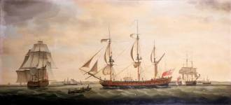 Barcos ingleses Fonte - en.wikipedia.org