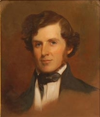 Retrato do tenente Lee, pintado por Thomas Sully, 1845.