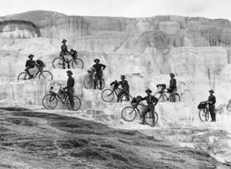 Membros da Army Bicycle Corps (EUA, 1896)