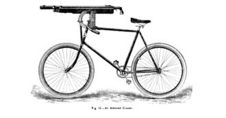 Modelo de bicicleta Pope utilizada na I Guerra Mundial