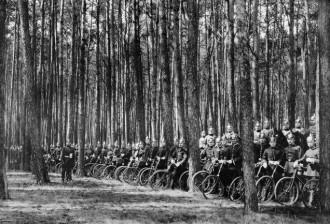 Combatentes alemães em 1915