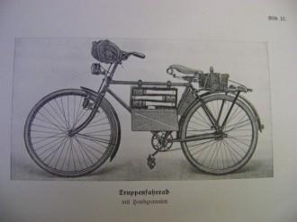 Modelo de bicicleta Truppenfahrrad (Alemanha – Segunda Guerra Mundial)