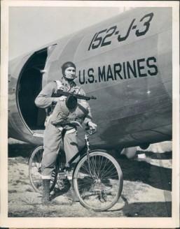 Bicicleta dobrável para paraquedista