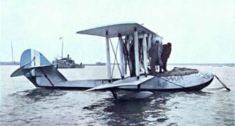 O hidroavião Buenos Aires