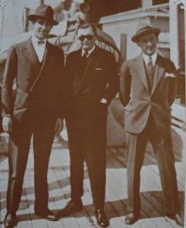 Julio Campanelli, Eduardo Olivero e Bernardo Duggan
