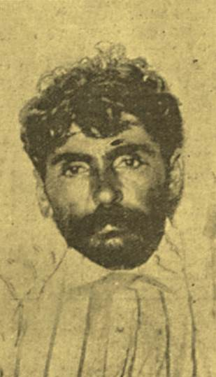 Silvino após sua captura em 1914
