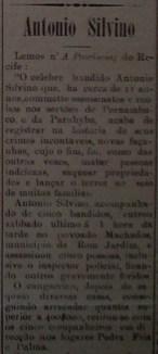 """Jornal """"A Republica"""", em 21 de fevereiro de 1908"""