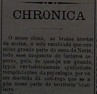"""Jornal """"A Republica"""", em 25 de abril de 1908"""