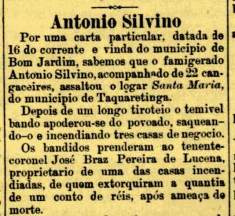 Jornal do Recife, Sexta Feira, 19 de julho de 1912