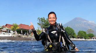 A médica brasileira Karina Dubeux - Fonte - BBC
