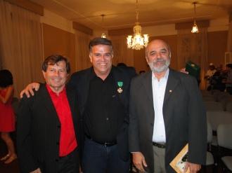Os grandes amigos maravilhosas figuras humanas, sertanejos, pesquisadores do cangaço Ivanildo Silveira e Nivaldo Pereira.