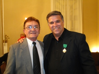 Junto a Iaperi Araújo, escritor, pesquisador e Presidente do Conselho Estadual de Cultura do Rio Grande do Norte