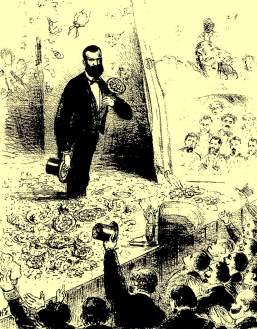 O teatro possuía uma enorme importância na sociedade brasileira na década de 1880.