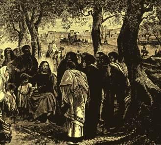 Nas década de 1880, a imagem mais comum ao período natalino estava sempre focada na figura de Jesus Cristo.