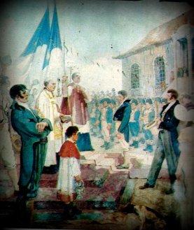 Bênção das bandeiras da Revolução de 1817, de Antonio Parreiras.
