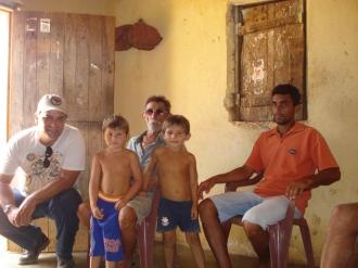 Buscando informações com os sertanejos, procurando a memória da passagem do bando de lampião pelo Rio Grande do Norte em 1927.