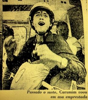 Marco Archer, o Curumim, em foto de 1979 - Foto de José Vital