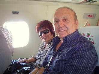 Anna Maria Cascudo e seu marido Camilo Barreto