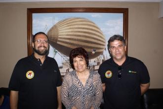 Na época da Fundação Rampa, junto com Frederico Nicolau e Anna Maria Cascudo