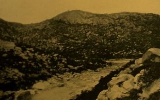 Leito seco do rio Acauã