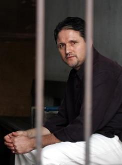 Brasileiro Marco Archer Cardoso Moreira, condenado à morta na Indonésia, em prisão de Jacarta