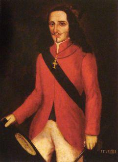 Retrato anônimo de João Fernandes Vieira, século XVII, Museu do Estado de Pernambuco.