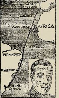 "A rota do ""Plus Ultra"" em 1926"