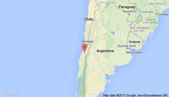 Avião foi encontrado ao sul da capital chilena Santiago