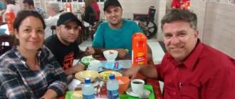 Junto a equipe da TV BRASIL de São paulo. Uma honra trabalhar com vocês.