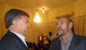 Com Roberto Lima, Presidente da UBE-RN