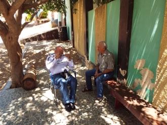 Ivanildo Silveira e Antônio Antas em Manaíra-PB.