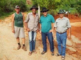 Da esquerda para direita José Lopes, Manuel Lopes Filho, Rostand Medeiros e Antônio Antas Dias