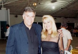 Junto a escritora Elane Marques, que recentemente lançou um livro sobre processo de Chico Pereira