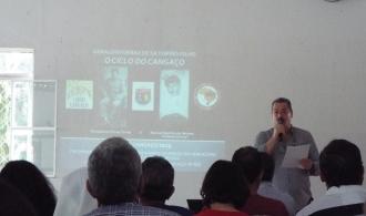 """Palestra """"100 anos da Prisão de Antônio Silvino"""", pelo pesquisador Geraldo Ferraz"""