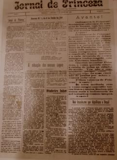 Jornal de Princesa durante a Guerra