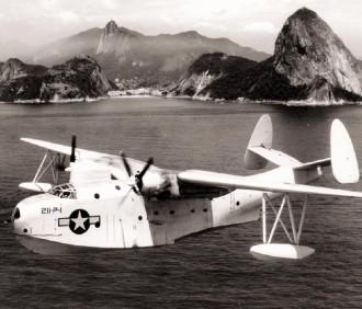 Martin PMB-3S Mariner do VP-211\VPB-211 sobre o Rio de Janeiro.
